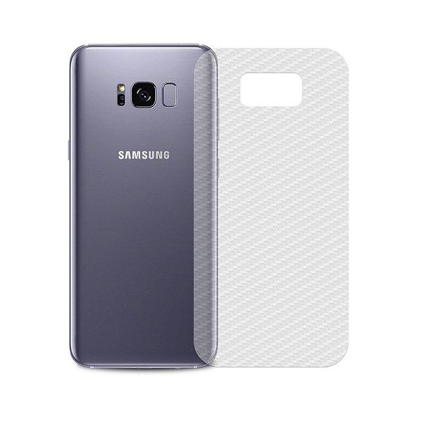 Película Traseira de Fibra de Carbono Transparente para Samsung Galaxy S8 - Gshield