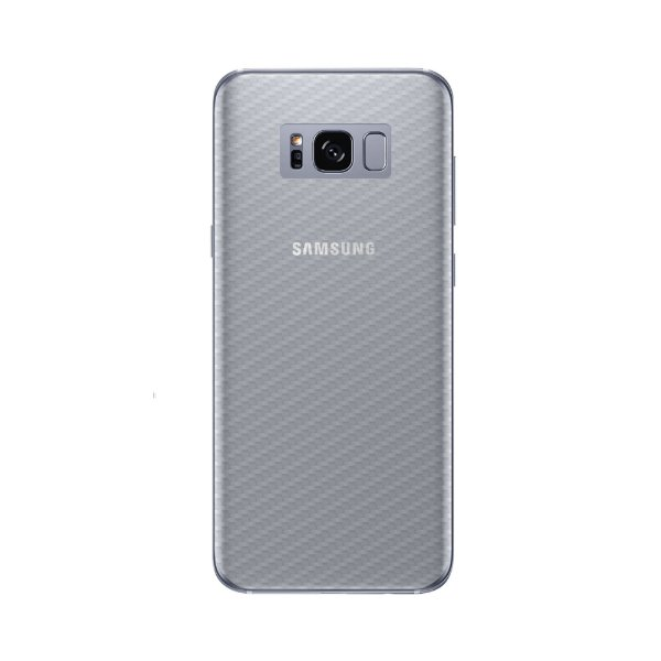 Película Traseira de Fibra de Carbono Transparente para Samsung Galaxy S8 - Gorila Shield