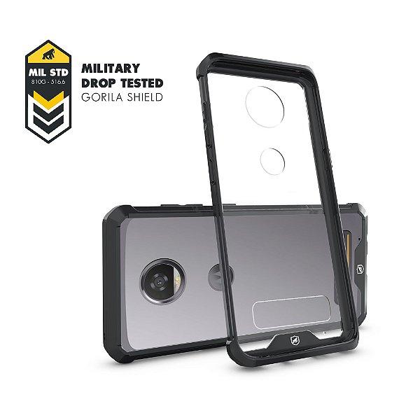 Capa Ultra Slim Air Preta para Motorola Moto Z2 Play - Gorila Shield