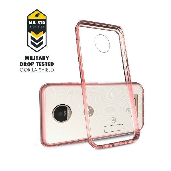 Capa Ultra Slim Air Rosa para Motorola Moto Z Play - Gorila Shield