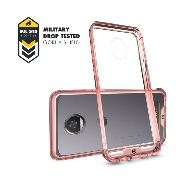 Capa Ultra Slim Air Rosa para Motorola Moto Z2 Play - Gorila Shield