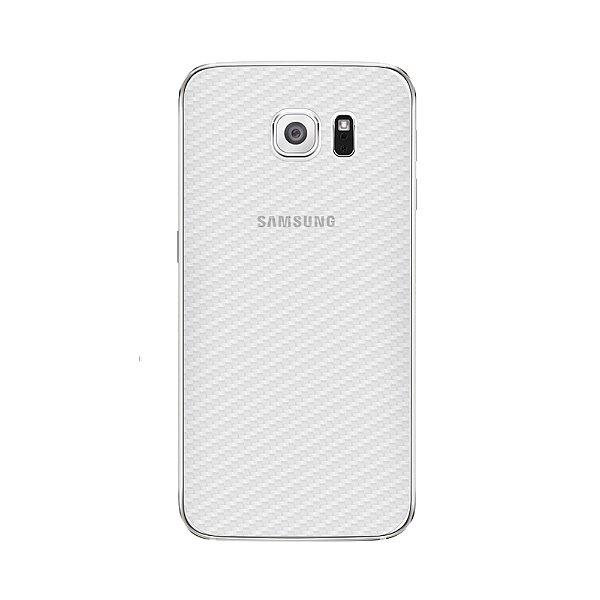 Película Traseira de Fibra de Carbono Transparente para Samsung Galaxy S6 Edge Plus - Gshield