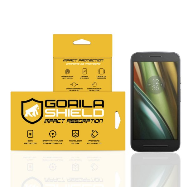 Película de Vidro Dupla para Motorola Moto E3 - Gorila Shield