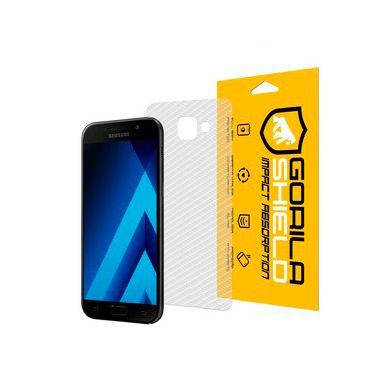 Película Nano Gel Dupla + traseira fibra de carbono para Samsung Galaxy A5 2017 – Gshield (Cobre toda tela)
