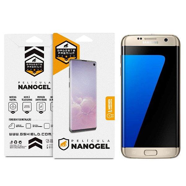 Película Nano Gel Dupla para Samsung Galaxy S7 Edge - Gshield (Cobre toda tela)