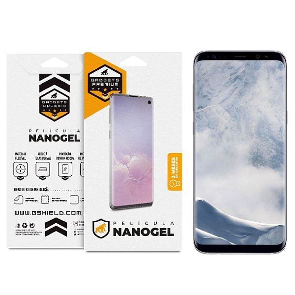 Película Nano Gel Dupla para Galaxy S8 Plus – Gshield (Cobre toda tela)