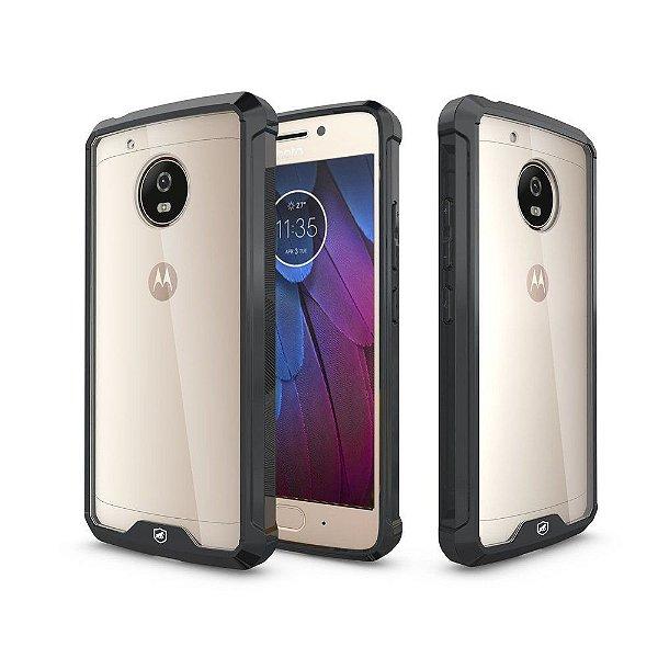 Capa Ultra Slim Air Preta para Motorola Moto G5s - Gshield
