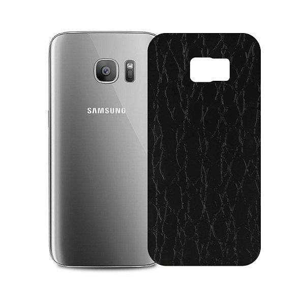 Skin Película Traseira Couro para Samsung Galaxy S7 Edge - Gorila Shield