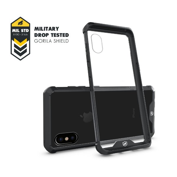 Capa Ultra Slim Air Preta para Iphone X e XS - Gorila Shield