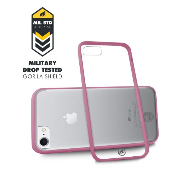 Capa Pink para Iphone 7 e 8 - Gorila Shield