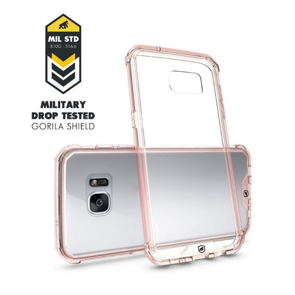 Capa Ultra Slim Air Rosa para Samsung Galaxy S7 - Gorila Shield
