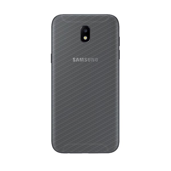Película Traseira de Fibra de Carbono Transparente para Samsung Galaxy J5 Pro - Gorila Shield