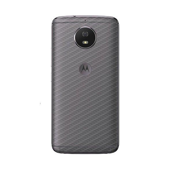 Película Traseira de Fibra de Carbono Transparente para Motorola Moto G5S - Gshield