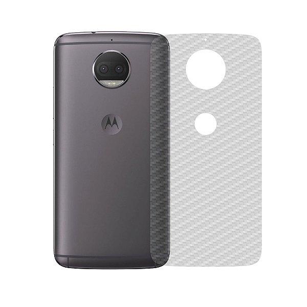 Película Traseira de Fibra de Carbono Transparente para Motorola Moto G5S Plus - Gshield