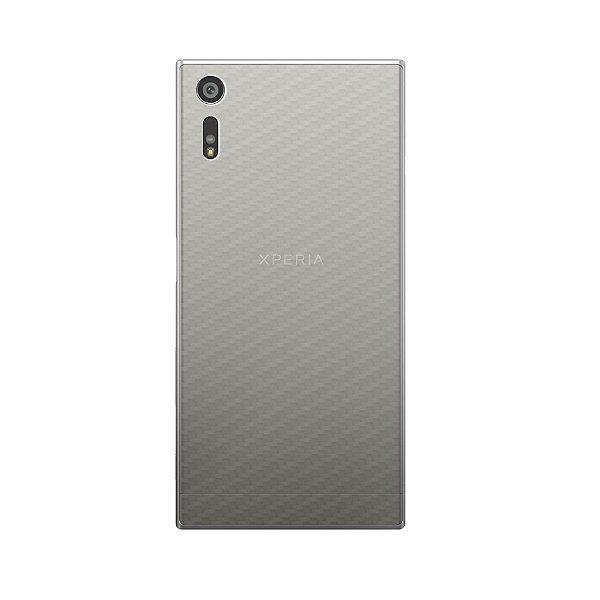 Película Traseira de Fibra de Carbono Transparente para Sony Xperia XZ - Gorila Shield