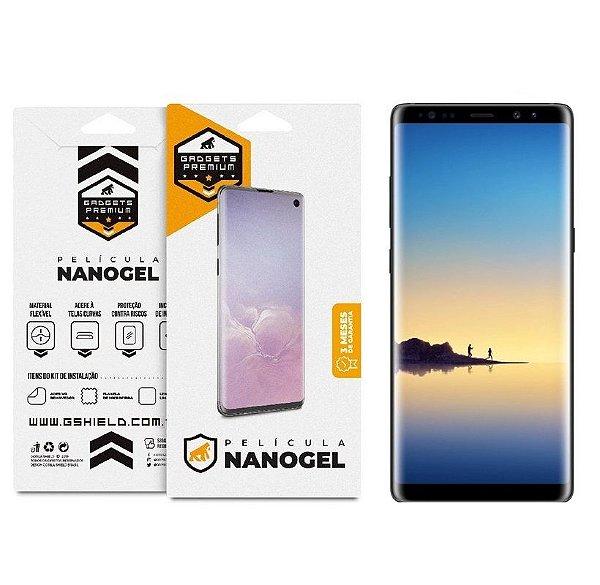 Película Nano Gel Dupla para Samsung Galaxy Note 8 - Gshield (Cobre toda tela)