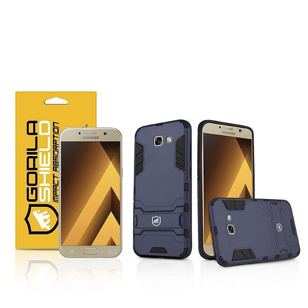 Kit Capa Armor e Película de Vidro Dupla para Samsung Galaxy A3 2017 - Gorila Shield