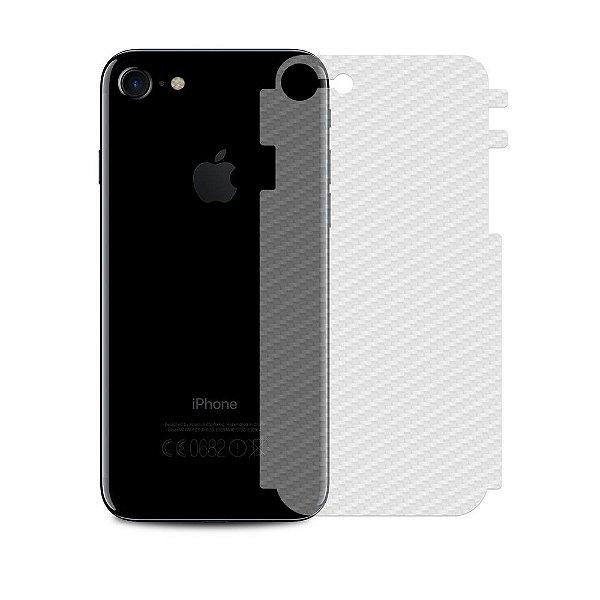 Película Traseira de Fibra de Carbono Transparente para iphone 8 - Gshield