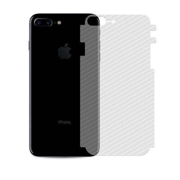 Película Traseira de Fibra de Carbono Transparente para Iphone 8 Plus - Gshield