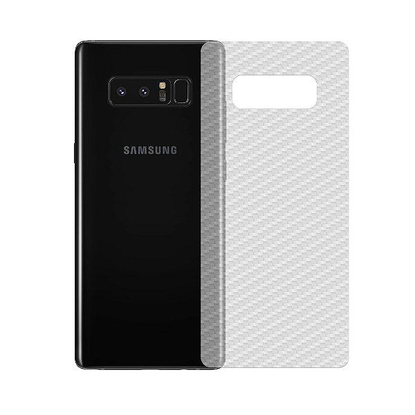 Película Traseira de Fibra de Carbono Transparente para Samsung Galaxy Note 8 - Gshield