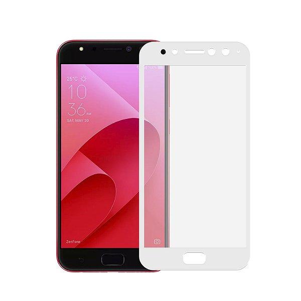 Película Coverage Color para Asus Zenfone 4 Selfie PRO ZD552KL - Branca - Gorila Shield (Cobre toda tela)