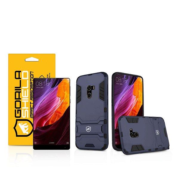 Kit Capa Armor e Película de vidro dupla para Xiaomi Mi Mix 2 - Gorila Shield