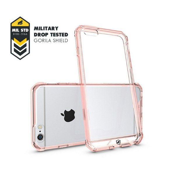 Capa Ultra Slim Air Rosa para Iphone 6 e 6S - Gorila Shield