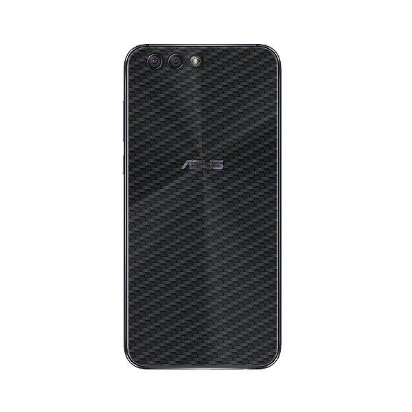 Película Traseira de Fibra de Carbono Transparente para Asus Zenfone 4 (ZE554KL) - Gorila Shield