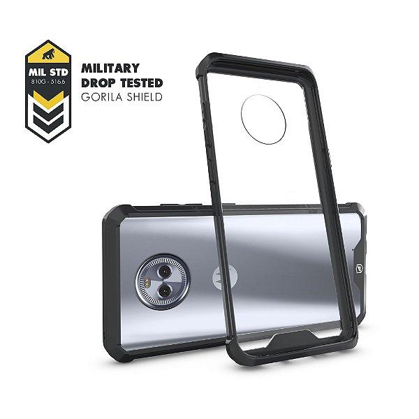 Capa Ultra Slim Air Preta para Motorola Moto X4 - Gshield