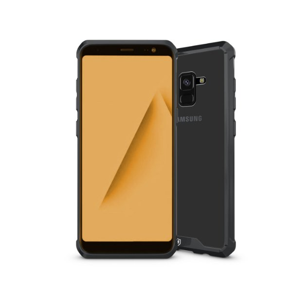 Capa Ultra Slim Air Preta para Samsung Galaxy A8 Plus - Gorila Shield