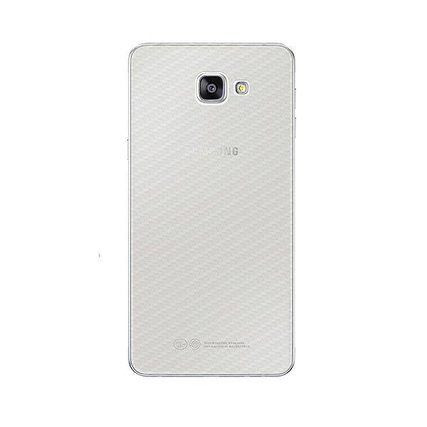 Película Traseira de Fibra de Carbono Transparente para Samsung Galaxy A9 - GORILA SHIELD