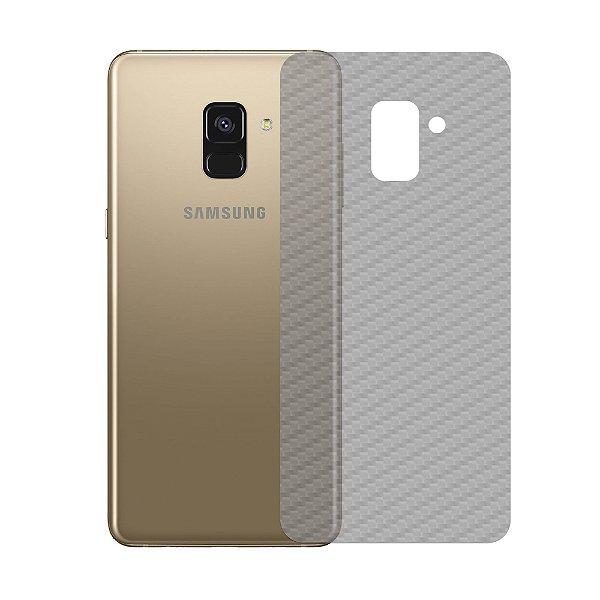 Película Traseira de Fibra de Carbono Transparente para Samsung Galaxy A8 - Gshield