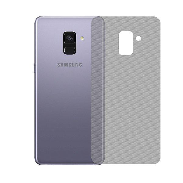 Película Traseira de Fibra de Carbono Transparente para Samsung Galaxy A8 2018 Plus - Gshield