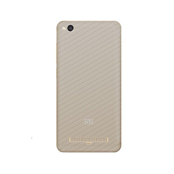 Película Traseira de Fibra de Carbono Transparente para Xiaomi Redmi 4A - Gorila Shield