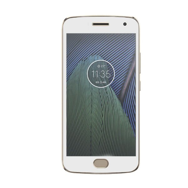 Película Coverage Color para Motorola Moto G5 Plus - Branca - Gorila Shield (COBRE TODA TELA)