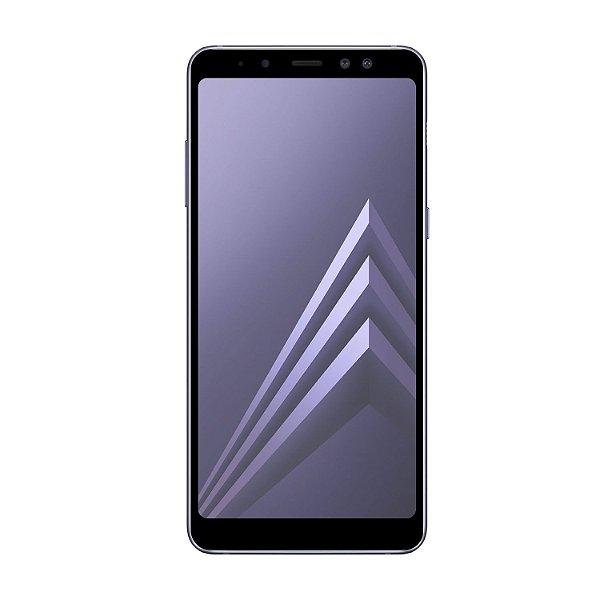 Película Coverage Color para Samsung Galaxy A8 Plus - Preta - Gshield (COBRE TODA TELA)