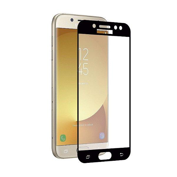 Película Coverage 5D Pro Preta para Samsung Galaxy J5 Pro - Gshield (COBRE TODA TELA)