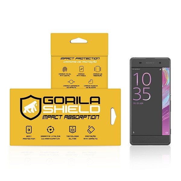 Película Nano Gel Dupla para Sony Xperia XA – Gorila Shield (Cobre Toda Tela)