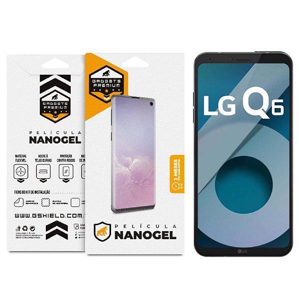 Película Nano Gel Dupla para LG Q6 e Q6 Plus – Gshield (Cobre Toda Tela)