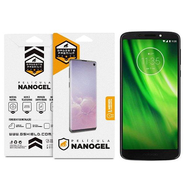 Película Nano Gel Dupla para Motorola Moto G6 – Gshield (Cobre Toda Tela)