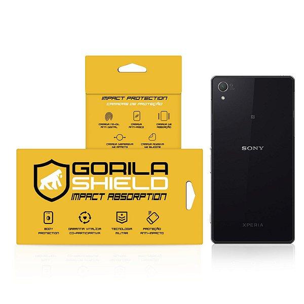 Pelicula de vidro dupla traseira para Sony Xperia Z2 - Gorila Shield