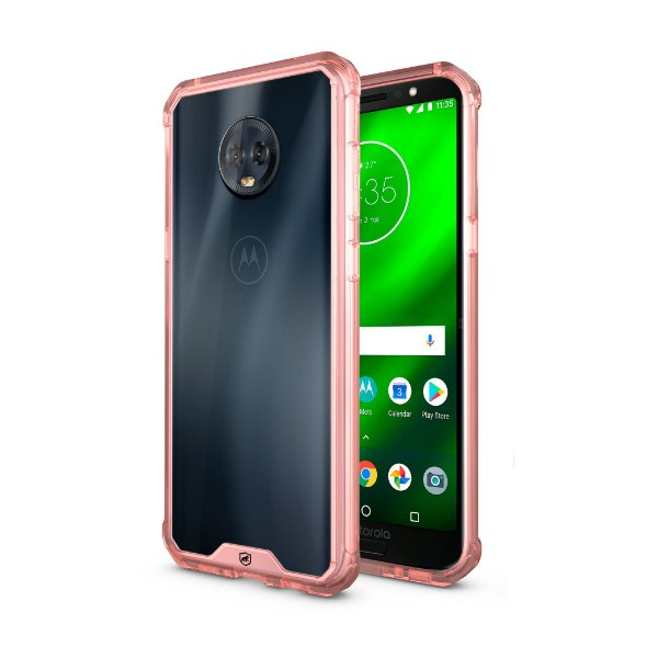Capa Ultra Slim Air Rosa para Motorola Moto G6 Plus - Gorila Shield