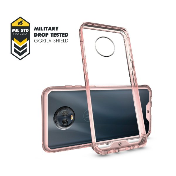 Capa Ultra Slim Air Rosa para Motorola Moto G6 Plus - Gshield