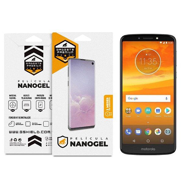 Película Nano Gel Dupla para Motorola Moto E5 Plus – Gshield (Cobre Toda Tela)