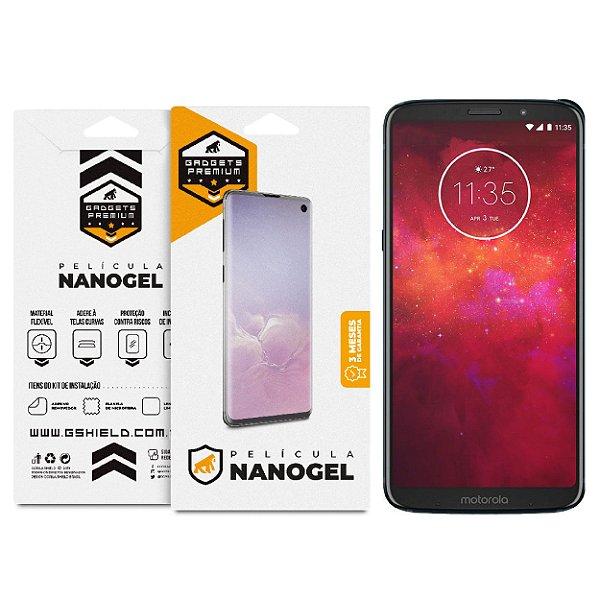 Película Nano Gel Dupla para Motorola Moto Z3 Play - Gshield