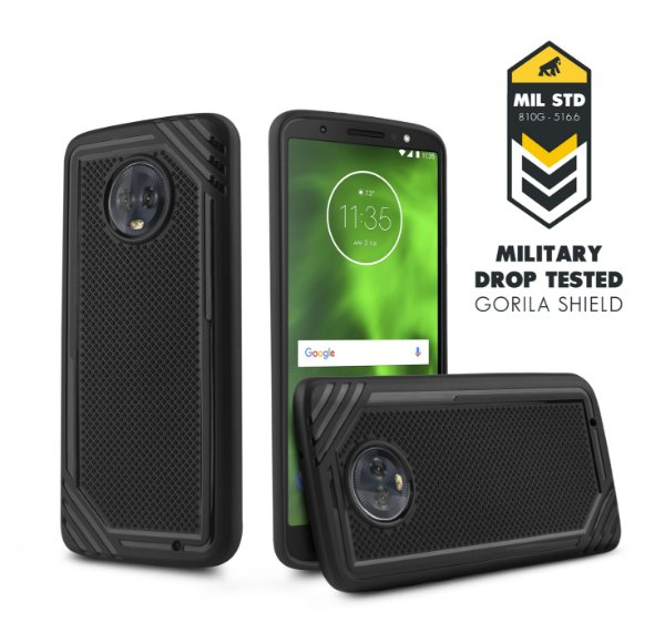 Capa Tech grip para Moto G6 plus - Gorila Shield
