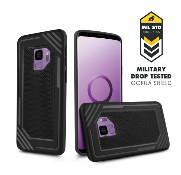 Capa Tech Grip para Samsung Galaxy S9 - Gorila Shield