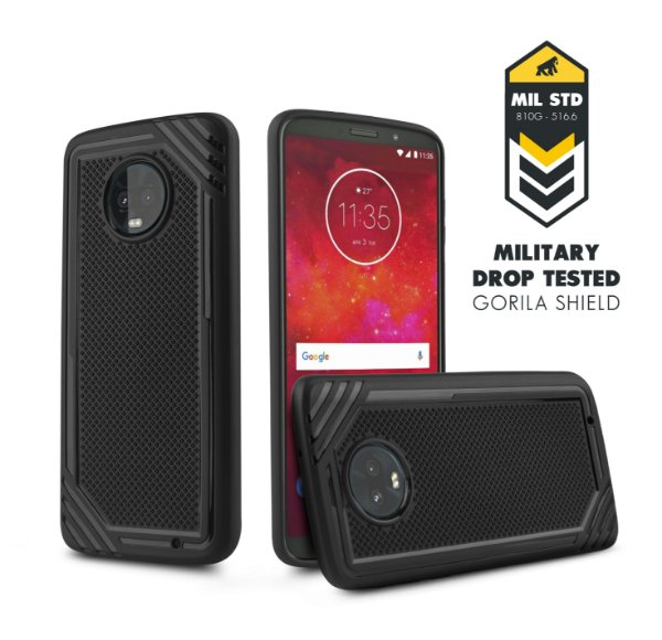 Capa Tech Grip para Moto Z3 Play - Gorila Shield