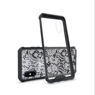 Capa Ultra Slim Preta Rendada para iPhone X e iPhone XS - Gorila Shield