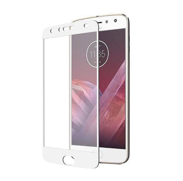 Película Coverage 5D Pro Branca para Motorola Moto Z2 Play - Gshield